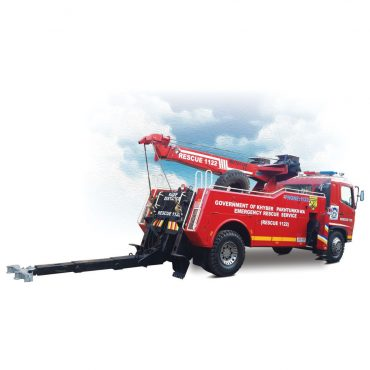 Recovery Crane With Rotatable Boom JRC-R